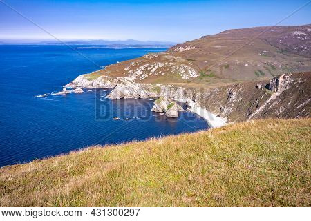 Glenlough Bay Between Port And Ardara In County Donegal Is Irelands Most Remote Bay