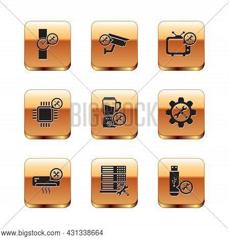 Set Wrist Watch Service, Air Conditioner, Database Server, Blender, Processor, Tv, Usb Flash Drive A