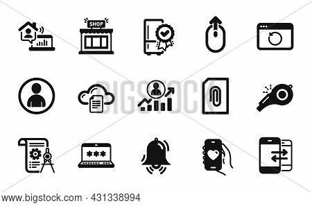Vector Set Of Dating App, Recovery Internet And Shop Icons Simple Set. File Storage, Career Ladder A