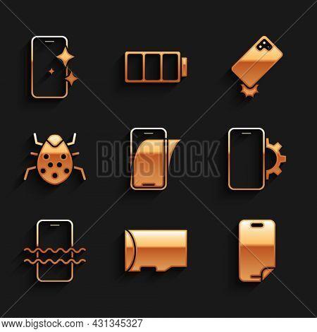 Set Glass Screen Protector, Micro Sd Memory Card, Phone Repair Service, Waterproof Phone, System Bug