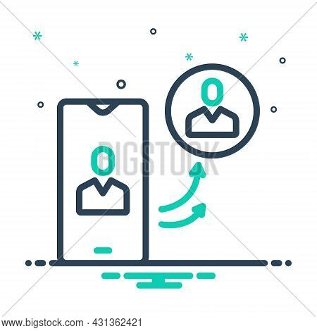 Mix Icon For Insist Assert Contend Demand Maintain Phone Call Communication