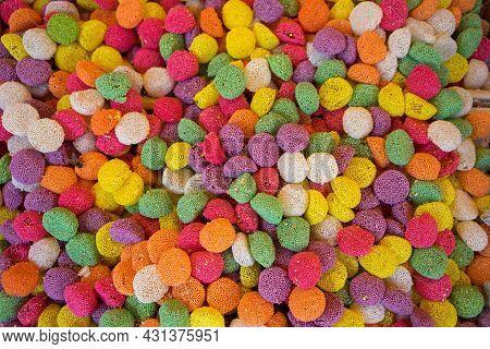 Photo Of Lots Of Colorful Sweet, Turkish Delight