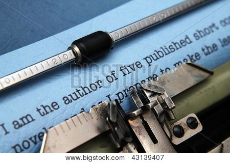 Author Letter To Publisher