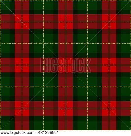 Red And Green Tartan Plaid Scottish Seamless Pattern. Lumberjack Flannel Texture Tartan, Plaid, Tabl