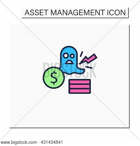Remove Color Icon. Removing Ghost, Inactive Assets. Not Physically Accounted In Workplace. Asset Man