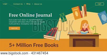 Free Online Journal, Digital Book Or Notebook