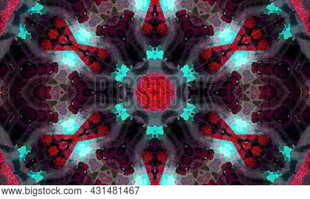 This Is An Illustration Abstract Kaleidoscope With Design Art, Wall Art, Unique, And Backdrop.its Ve