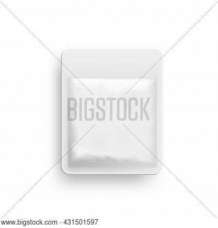 Blank Foil Food Pack, Pouch Bag Vacuum Packaging.