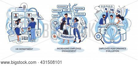 Hr Department. Employee Performance Evaluation. Hr Employee Engagement Work Motivation Loyalty Perso