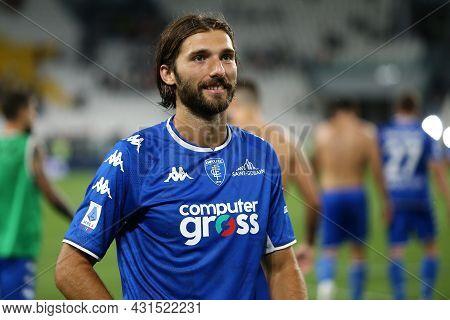 Torino, Italy. 28 August 2021. Leonardo Mancuso Of Empoli Fc  Looks On During The Serie A Match Betw