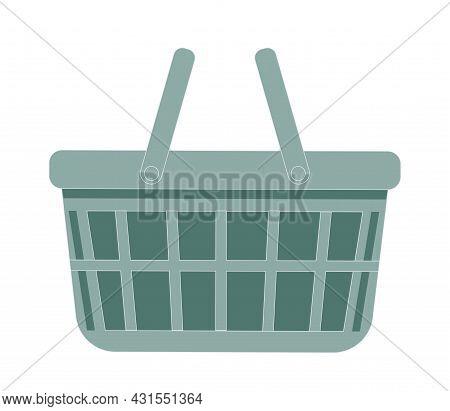 Shopping Cart Flat Vector Icon. Buy Flat Icon. Market Icon