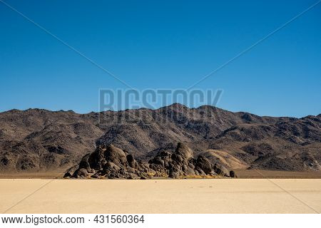 Grandstand Sits Below The Chance Range In Death Valley National Park