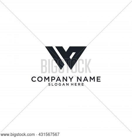 W Or Ww Initial Letter Logo Design Vector. W Logo, W Vector, W Icon
