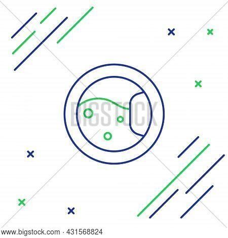 Line Washer Icon Isolated On White Background. Washing Machine Icon. Clothes Washer - Laundry Machin