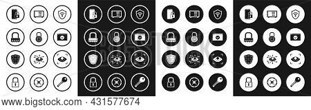 Set Shield With Wifi Wireless Internet Network, Safe Combination Lock Wheel, Smartphone Closed Padlo