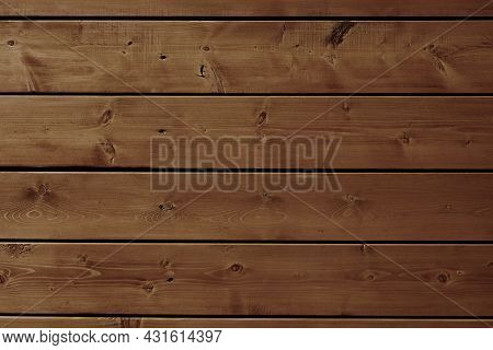 Larch Wood Wall Background. Larch Boards Exterior Paneling.