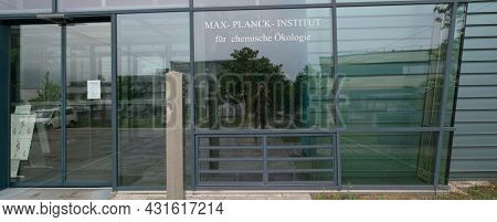 JENA, GERMANY - MAY, 29, 2016:  Max Planck Institute for Chemical Ecology investigates ecological interactions with molecular, chemical and neurobiological techniques.
