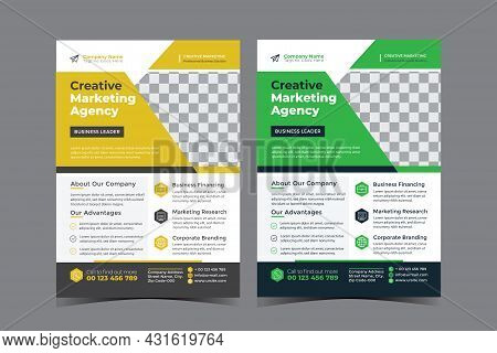 Corporate Multipurpose Business Flyer Design Template For Your Business Services