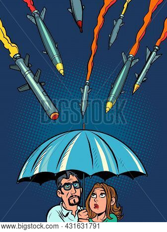 The Anti-missile Umbrella Of Israel And Other Countries. Protecting Civilians From Terrorists
