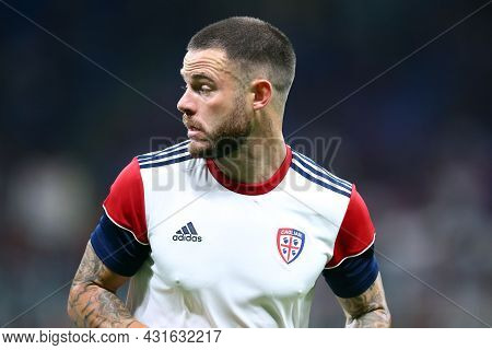 Milano, Italy.  29 August 2021. Nahitan Nandez Of Cagliari Calcio  During The Serie A Match Between