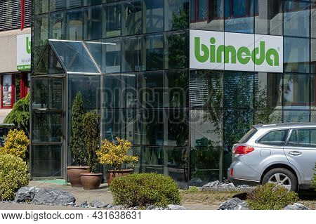 Bachenbulach, Switzerland - April 27, 2020: Bimeda Ag Is Shop That Sells Accessories For Everyday Us