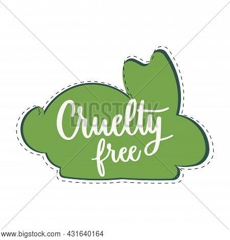Cruelty Free Mark Icon. Vector Symbol Product Made Without Cruelty. Eco-friendly And Biodegradable.