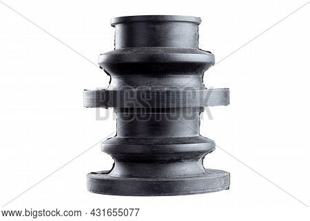 Kit Ribbed Vehicle Axle Boots Or Cv Joint Boots Black Rubber Flexible Cover To Protect Against Dust