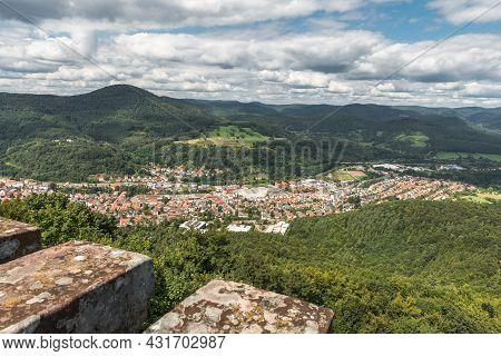 View Of Annweiler Am Trifels, Rhineland-palatinate, Germany