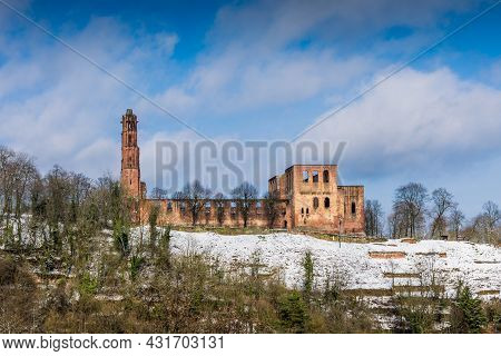 Limburg Abbey Near Bad Duerkheim, Rhineland-palatinate, Germany