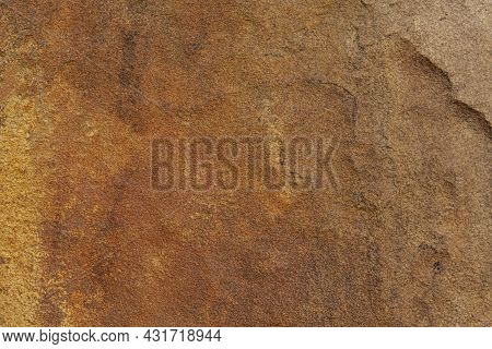 Natural Stone With Brown Rough Baking Stone From Garden Decoration Stone Texture And Background Seam