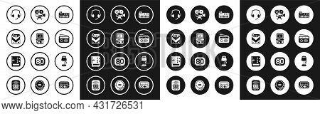 Set Music Synthesizer, Tetris, Cigarettes Pack Box, Headphones, Radio With Antenna, Retro Cinema Cam