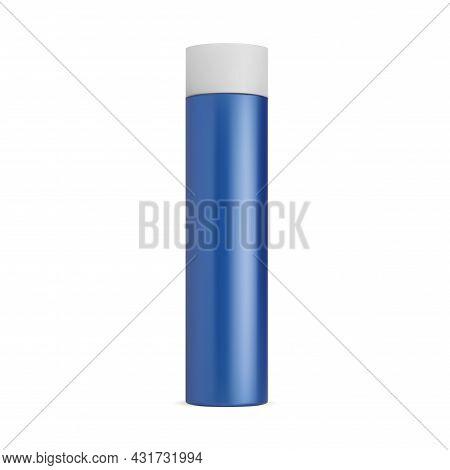 Spray Bottle Mockup, Deodorant Can. Hair Aerosol Tin, Cylinder Cosmetic Container, Hairspray Blank.