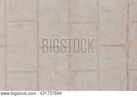 Masonry Brick Gray Blocks Brickwork Stone Wall Texture Background.