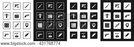 Set Military Knife, Ammunition Box, Knife Holster, M16a1 Rifle, Small Gun Revolver, Buying Pistol, L