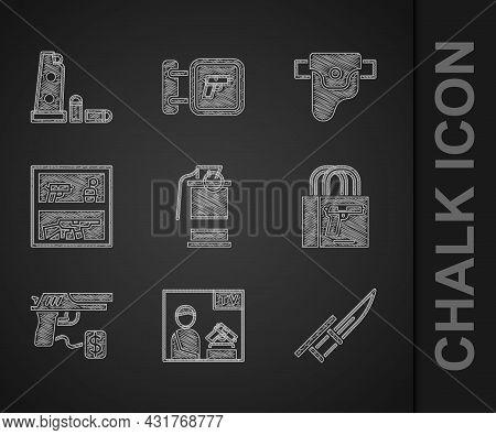 Set Hand Smoke Grenade, Advertising Weapon, Bayonet Rifle, Buying Gun Pistol, Hunting Shop, Gun Hols