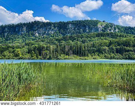 lake of Ilay in Jura region, France