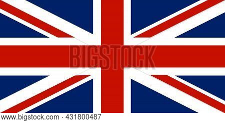 National Flag United Kingdom Of Great Britain And Northern Ireland - Vector, Union Jack, Union Flag,