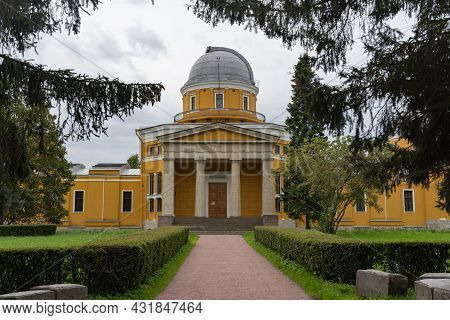 Main Building Of Old Pulkovo Astronomical Observatory, Saint Petersburg, Russia