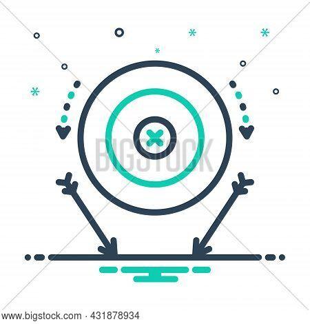 Mix Icon For Miss Fail Target Failure Tarrow Accurate Lack Achievement Aim Bullseye Goal