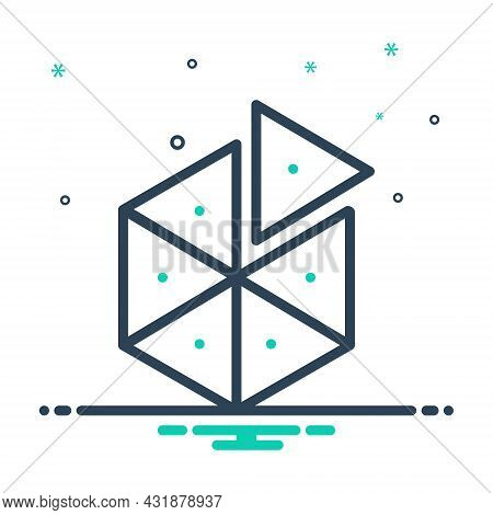 Mix Icon For Piece Slice Object Division Partition Split