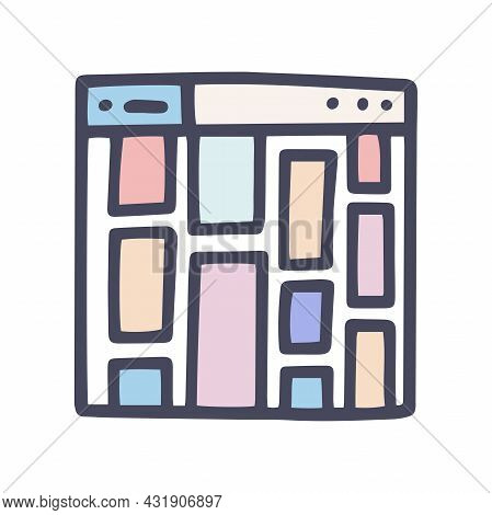 Color Vector Doodle Simple Icon Online Gallery