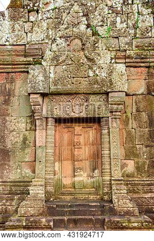 Vat Phou Or Wat Phu Is The Unesco World Heritage Site In Champasak Province, Southern Laos. Wat Phou
