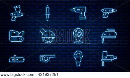 Set Line Electric Jigsaw, Cordless Screwdriver, Circular, Planer Tool, Paint Spray Gun, Circular Bla