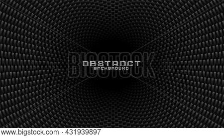 Dark Carbon Fiber Texture Background Vector Design Illustration
