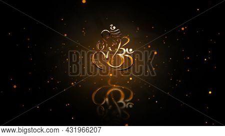 Lord Ganapathi Backgrounds, Lord Vinayaka Backgrounds, Hindu God Backgrounds.