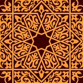 Arabic and islamic seamless ornament for background design poster