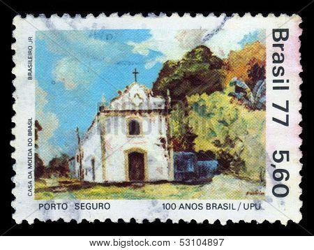 Church In Porto Seguro, Bahia, Brazil