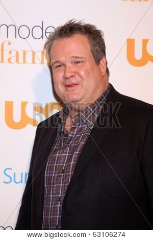 LOS ANGELES - OCT 28:  Eric Stonestreet at the Modern Family on USA Network Fan Appreciation Event at Village Theater on October 28, 2013 in Westwood, CA