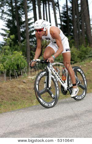 Triathlete Maximillian Longree Of San Francisco, Ca