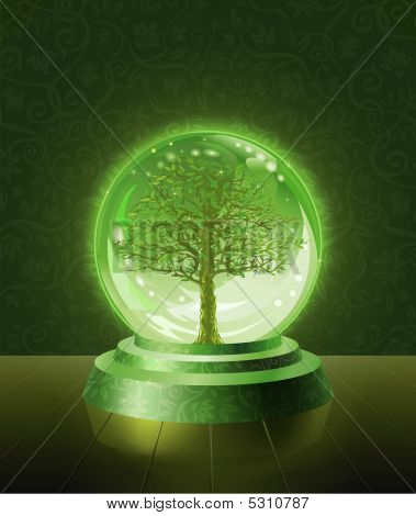 Tree Crystal Ball